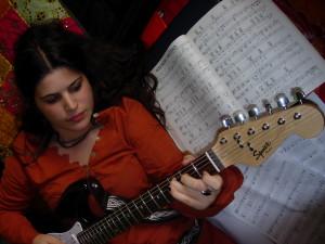 sara pagiaro guitar