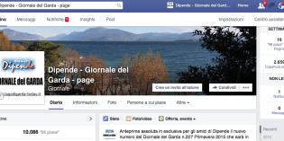 Dipende Giornale del Garda on-line FACEBOOKMANIA