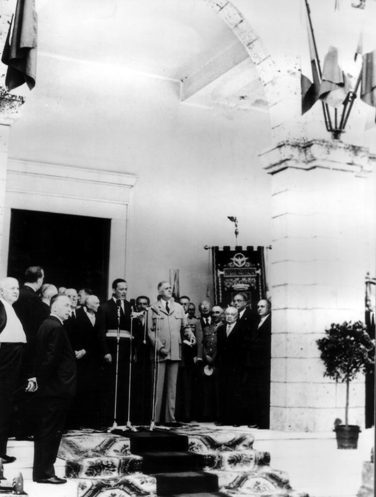 24 giugno 1959 -Laini e De Gaulle