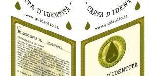 Carta d'Identità per l'olio extra vergine di oliva