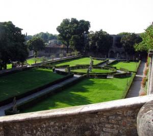giardini palazzo Guerrieri Gonzaga