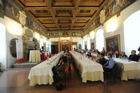 ed.2010_La degustazione di Sala Grande al Castello del Buonconsiglio