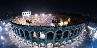 Verona – 2 giugno: ARENA DI VERONA, LO SPETTACOLO STA PER INIZIARE
