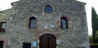 Sirmione (Bs): CHIESA DI S. PIETRO IN MAVINO, BLOCCO DEI RESTAURI