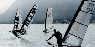 Campione del Garda (Bs): A Stefano Rizzi la Moth Euro-Cup 2013