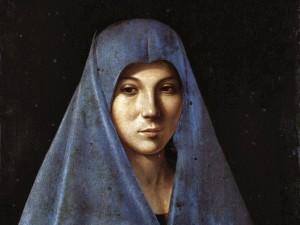 Antonello da Messina - Annunciata Palermo-2