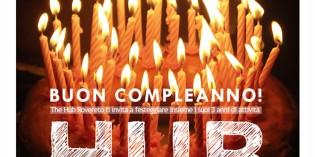 Rovereto (Tn): Buon Compleanno Hub!