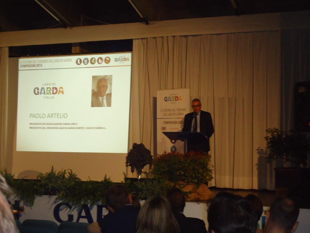 Garda (Vr). Paolo Artelio. Presidente Garda Unico