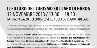 Il futuro del turismo sul Lago di Garda