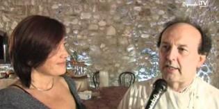 Carlo Bresciani alla cena della strada<br>dei vini e dei sapori del Garda 2011
