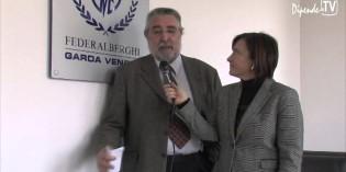 Corrado Bertoncelli Presidente di<br>Federalberghi Garda Veneto