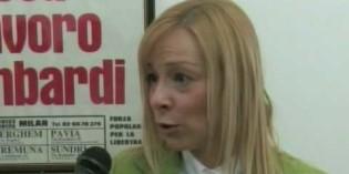Monica Rizzi intervistata da<br>Dipende.TV a proposito del Garda