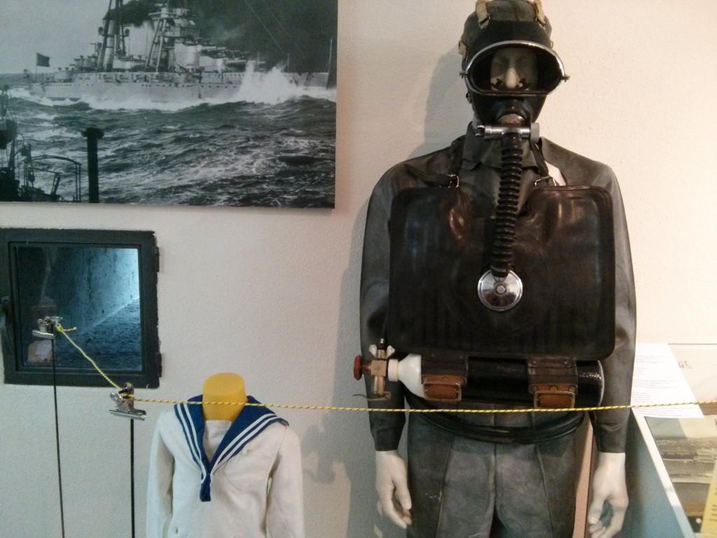 """""""uomo rana"""" della Regia Marina"""