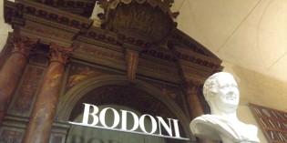 BODONI – Principe dei tipografi nell'Europa dei Lumi e di Napoleone –
