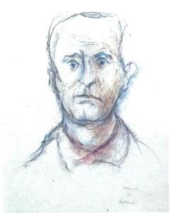 Testori - ritratto Cottini