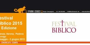 Vicenza: FESTIVAL BIBLICO, UNA MANIFESTAZIONE A IMPATTO SOCIALE CHE SI METTE ALLA PROVA