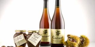 """Il Marrone di San Zeno DOP racchiuso in bottiglia, per un prodotto unico che si può trovare solo a San Zeno di Montagna, il """"balcone sul Garda""""."""