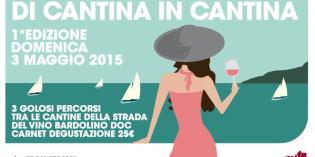 """Garda Veronese: """"Di Cantina in Cantina"""" Domenica 3 maggio"""