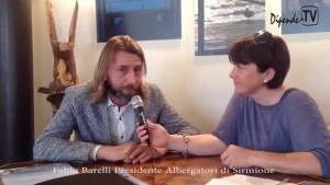 Sirmione: DipendeTV intervista Fabio Barelli