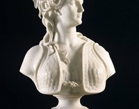 """Ligornetto (Svizzera, Canton Ticino) – """"Marcello, Adèle d'Affry (1836-1879) – duchessa di Castiglione Colonna""""."""
