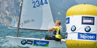 OPTIMIST: 165 piccole vele sul Garda Trentino