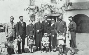 famiglia Davi 1938-39