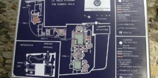 Desenzano del Garda: VISIBILITÀ TATTILE PER LA VILLA ROMANA