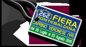Caprino Veronese (VR): 262^ EDIZIONE FIERA MONTEBALDINA