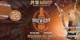 """""""European Brewery Festival"""", la prima edizione della fiera della birra artigianale a Peschiera del Garda"""