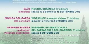 """Lago di Garda: ad ottobre la 6^ edizione dei """"Giardini del Benaco"""""""