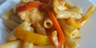 Pasta con i peperoni- un modo per renderla leggera!