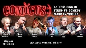 COMICUS seconda serata 2015-16 - comici