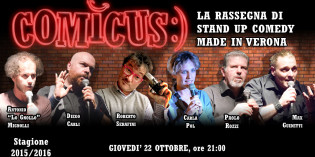 COMICUS – STAND UP COMEDY MADE IN VERONA