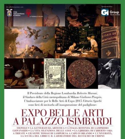 EXPO BELLE ARTI - Palazzo Isimbardi Milano 1