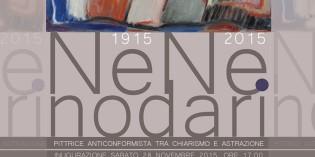Castel Goffredo (Mantova): NENE NODARI – Pittrice anticonformista tra Chiarismo e astrazione