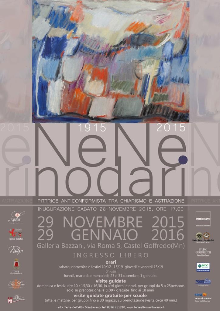Nene Nodari - Locandina mostra