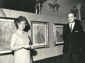 Nene Nodari e ritratto Del Bon