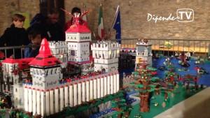 Mattoncini in Castello: Lario Zani appassionato di Lego, espone a Desenzano
