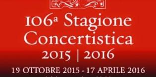 Verona fino al 17 aprile 2016: 106ª Stagione Concertistica AMICI DELLA MUSICA