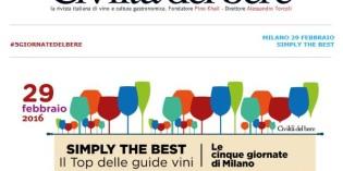 Milano – SIMPLY THE BEST – Il Top delle guide vini