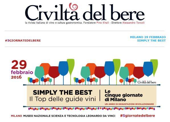 Civiltà del Bere - Evento Milano 29 Feb 2016 - 1