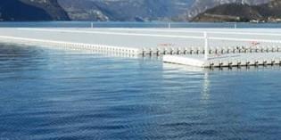 """Lago d'Iseo: iniziano i lavori del progetto di Christo """"The floating piers"""""""