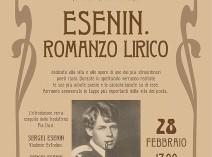 """Desenzano del Garda: la Scuola Russa e la Scuola di Musica del Garda presentano """"Esenin. Romanzo lirico"""""""