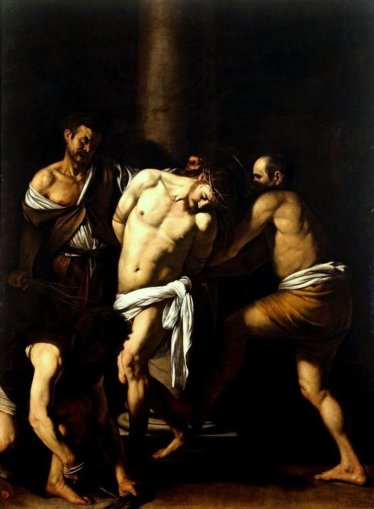 Caravaggio - Flagellazione di Cristo 1