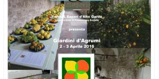 Gargnano: II edizione di Giardini d'Agrumi il 2 e 3 aprile 2016