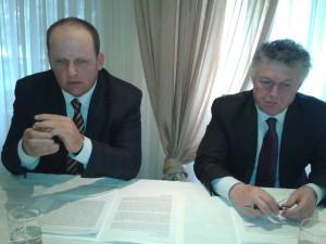 Giacomo Lussignoli e Fernando Galvan