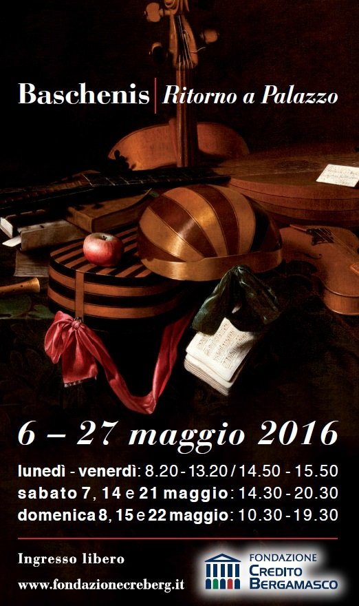 Baschenis - CREBERG Bergamo 2016 - locandina