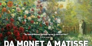 DA MONET A MATISSE – L'ARTE DI DIPINGERE IL GIARDINO MODERNO