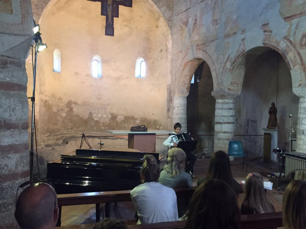 audizione Chiesa San Severo