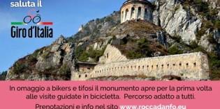 ROCCA D'ANFO: LA VALLE SABBIA ACCOGLIE IL GIRO D'ITALIA